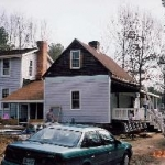We then renovated the exterior to match the house...