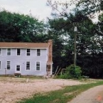 this is where we started - the original house was built in the early 1800's...