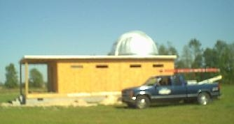 Fretts Construction actually built the entire observatory, and the roof and dome were installed with in-house labor.