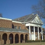 Shingle and flat roof installation at Isle of Wight County Administrative Complex in Isle of Wight, Virginia.