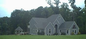 Fretts Construction installed the roofing on this humble abode in the Sedley area of Southampton County, Virginia...